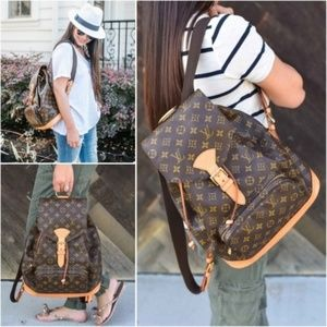 Louis Vuitton Back Pack Montsouris GM
